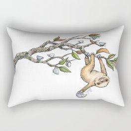 Slow Tea Rectangular Pillow