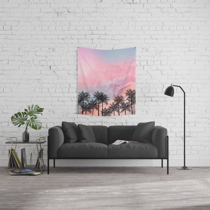 Summer Palm Tree #Society6 #Buyart #Decor Wall Tapestry