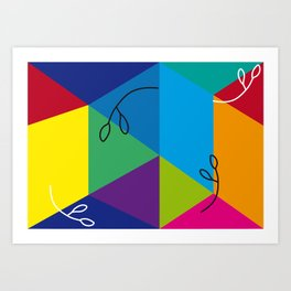 Colorfun Art Print