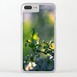 Beneath the Trees Clear iPhone Case