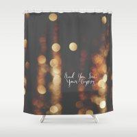 gypsy Shower Curtains featuring Gypsy by shelby   gordon