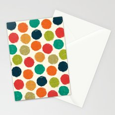 RETRO DOTS Stationery Cards