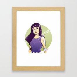 kate bishop Framed Art Print