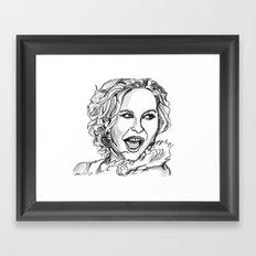 Julianne Hough Framed Art Print