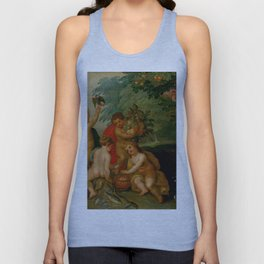 "Jan Brueghel The Elder ""Allegory of the Four Elements"" Unisex Tank Top"