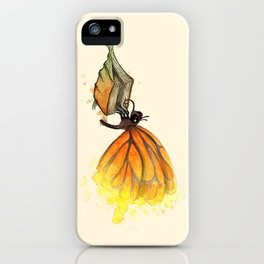 Bookworm Metamorphosis iPhone Case