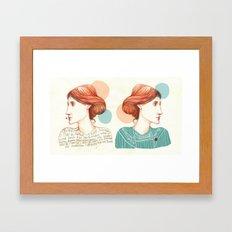 Dear Virginia... Framed Art Print