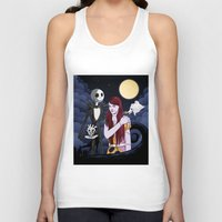nightmare before christmas Tank Tops featuring The Nightmare Before Christmas by Cécile Appert