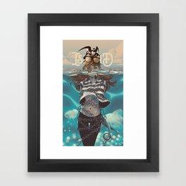 ISLAND-JONAH Framed Art Print