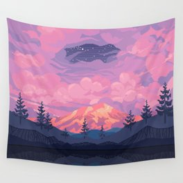 Mount Rainier Wall Tapestry