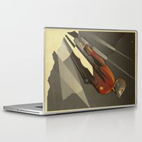star lord Laptop & iPad Skins featuring The Star-Lord by Danny Haas