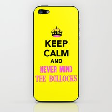 NeverMindTheBollocks iPhone & iPod Skin