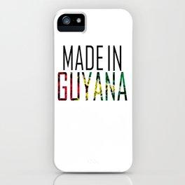 Made In Guyana iPhone Case