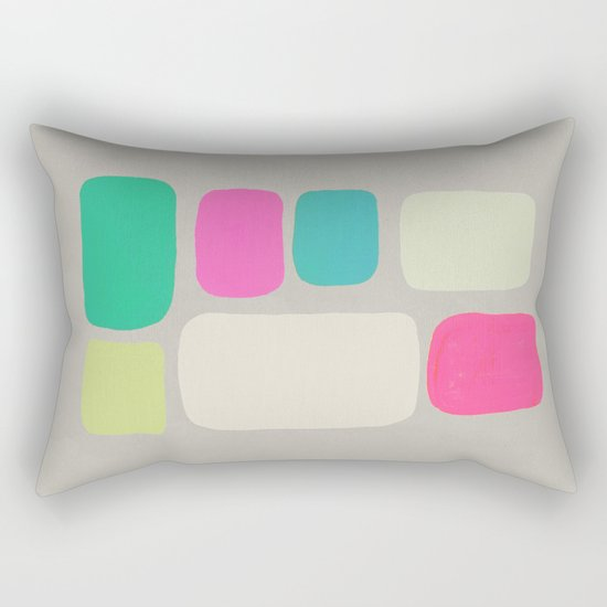 colour + pattern 2 Rectangular Pillow