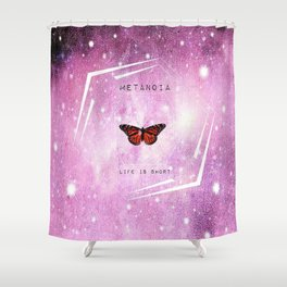 Metanioa Monarch Shower Curtain