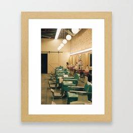 Barber Shop Framed Art Print