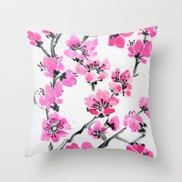 Cherry Simple Throw Pillow