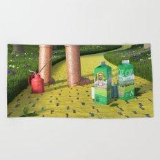 Dorothy is missing - Dorothy a disparu Beach Towel
