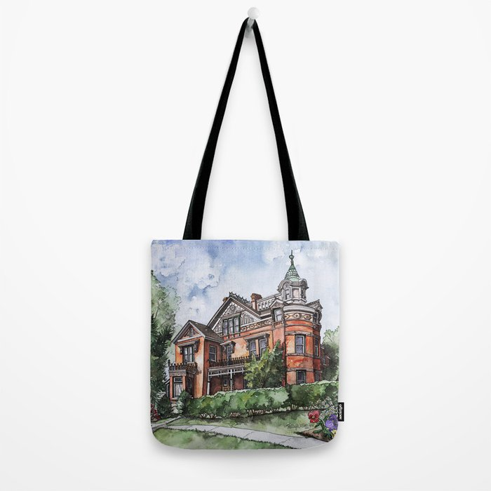 Armstrong Mansion Tote Bag
