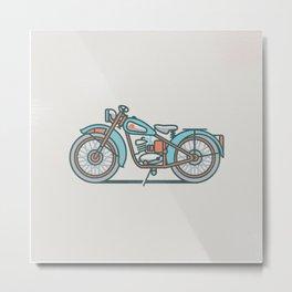 BSA Bantam D1 Metal Print