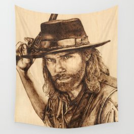 Hell on Wheels Inspired, Mr. Bohannon Wall Tapestry