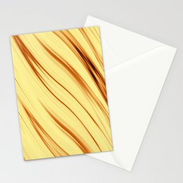 The art of fiery gold Stationery Cards