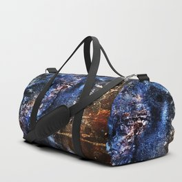 Cosmic Birds Abstract Duffle Bag