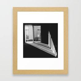 Light Leaks Framed Art Print