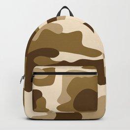 Beige camouflage pattern Backpack