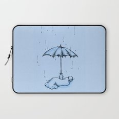 Rain Rain Go Away! Laptop Sleeve