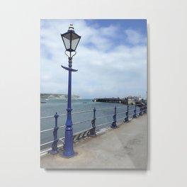 The Blue Lamp Metal Print