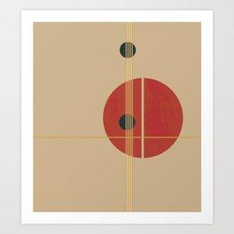 Geometric Abstract Art #3 Art Print