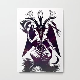 Baphomet Dreams Metal Print