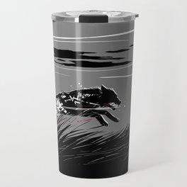 Mecha Wolf Travel Mug