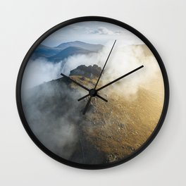Aerial view of Mourne Mountains Wall Clock