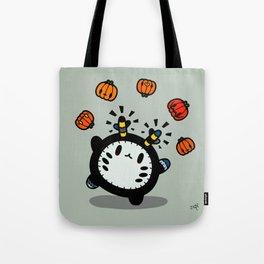 Halloween series - juggle juggle juggle.... Tote Bag