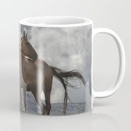 Montana Horses near Glacier National Park Coffee Mug