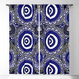 Authentic Aboriginal Artwork - Connections Blackout Curtain