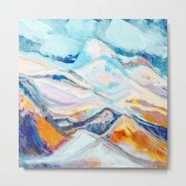 Hills Of Color Metal Print