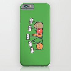 I hate vegans Slim Case iPhone 6