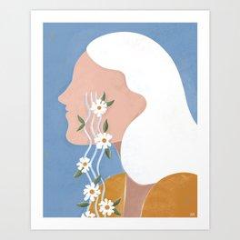 Fierce tears Art Print