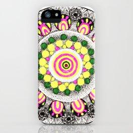 Mandala 02 iPhone Case