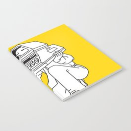 Computer head Notebook