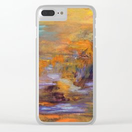 Imagination Unleashed Clear iPhone Case