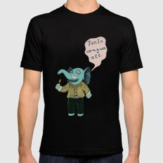 Farts Conquer All Mens Fitted Tee Black SMALL