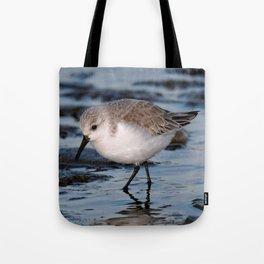 A Strolling Sanderling Tote Bag
