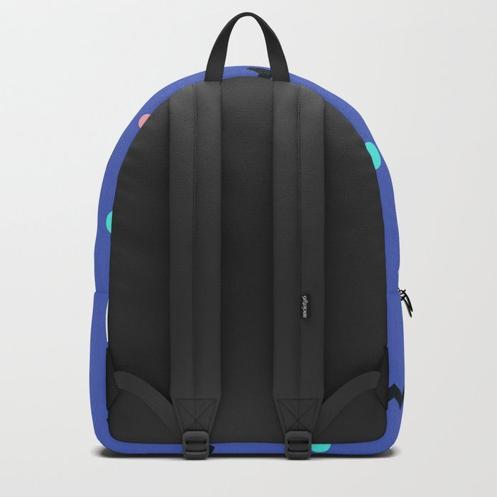 Memphis pattern 57 Backpack