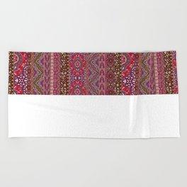 Farah Stripe Red Beach Towel
