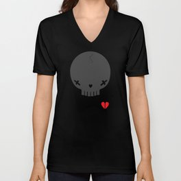 HEART BREAKER - ed. fact Unisex V-Neck