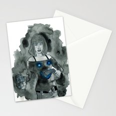 Guns to a Knife Fight Stationery Cards